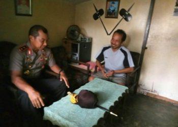 Kapolda Sulsel, Irjen Pol Umar Septono Silaturahmi dengan RT/RW di Kelurahan Bongaya, Kecamatan Tamalate dalam rangka mengecek Bhabimkantibmas