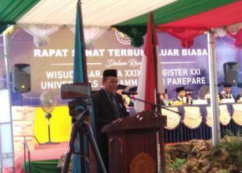 Prof Ambo Asse, Ketua Pimpinan Wilayah Muhammadiyah (PWM) Sulsel. --foto sucipto/pijarnews--