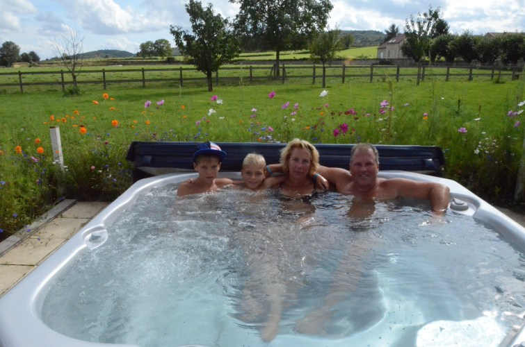 Dilling Family in France