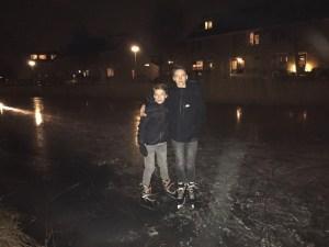 Ice skating and speed skating South Holland 2017