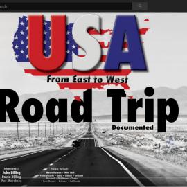 USA Road Trip Documented Video – Coast to Coast