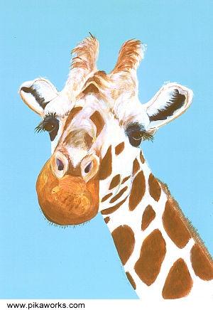 Gert The Flirt At Pika Works Gert The Giraffe Giraffe