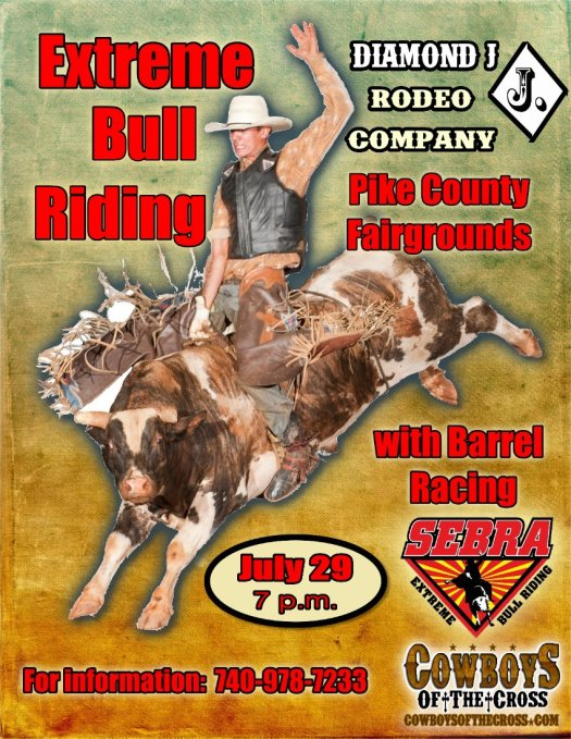 Dimond J Bull Riding July 29 2017
