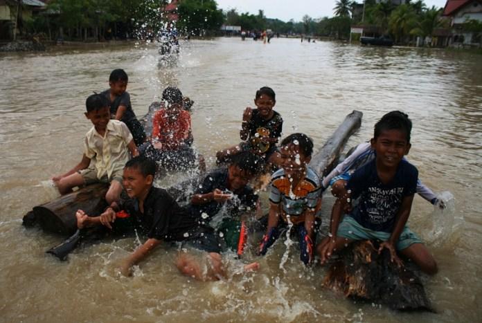Banjir Desa Paya Sikureueng