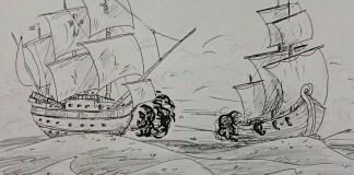 Kapal Perang Dunia II Selat Malaka