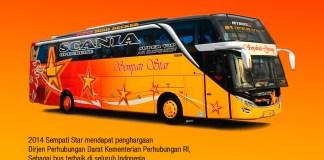 Bus Sempati Star. (PM)