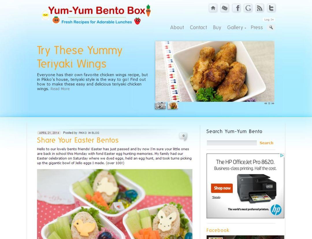 YumYumBento.com