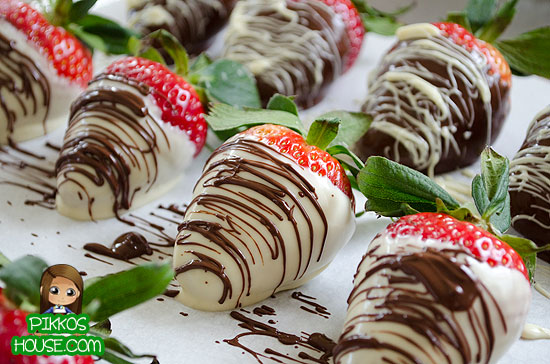 Fancy Pants Chocolate Covered Strawberries