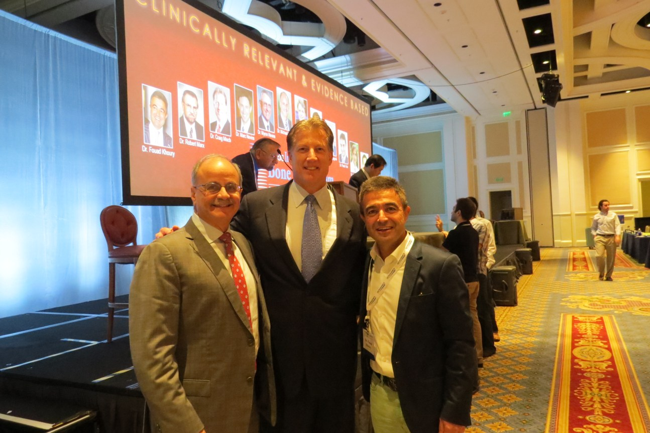 Day 2 - Drs. Michael Pikos, Craig Misch and Fouad Khoury