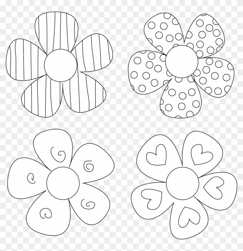 Paper Flower Cut Out Templates Jpg Freeuse Download