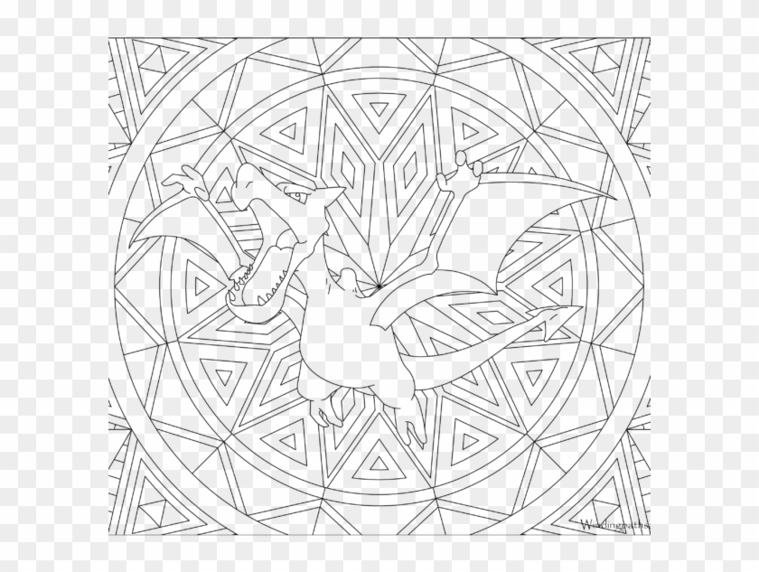 Adult Pokemon Coloring Page Aerodactyl Printable Pikachu Color Pages Clipart 2755147 Pikpng