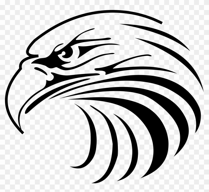Eagle Head Drawing At Getdrawings Eagle Head Vector Png Clipart 325976 Pikpng