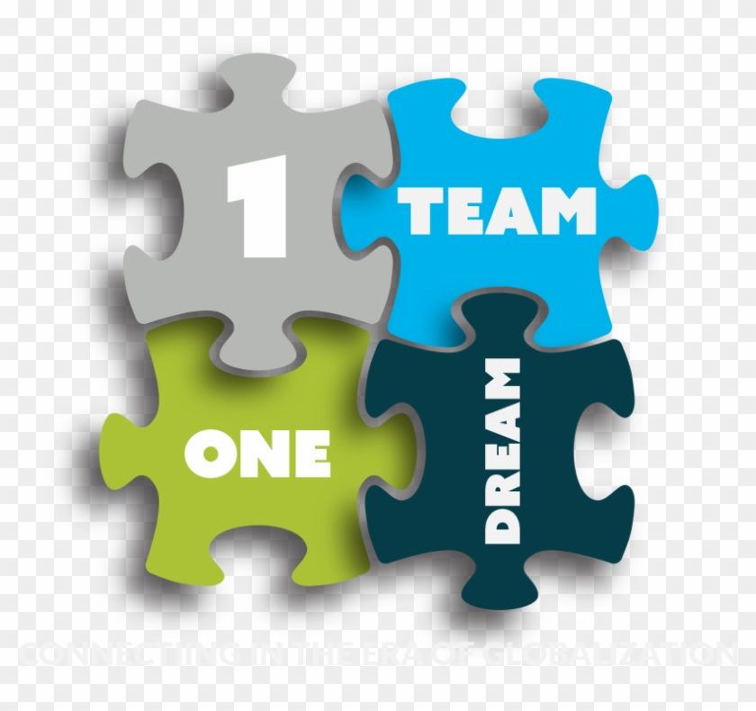 2 Events. 1 Amazing Team - One Team One Dream Logo Clipart (#3378458) - PikPng