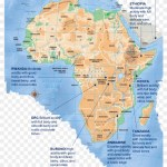 Africa Largely Believed To Be The Birthplace Of Coffee Serengeti Plain Map Clipart 4241922 Pikpng