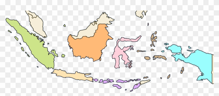 By agc version friday, june 1, 2018 add comment. Indonesia Colour Ethnic Map Of Indonesia Clipart 5081381 Pikpng