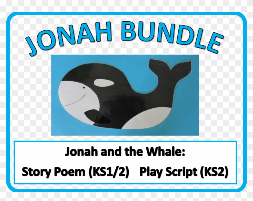 Jonah And The Whale Craft Killer Whale Clipart 5102839 Pikpng