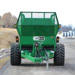 Vertical beater spreader