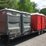 ADA restroom trailer