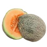 Halves of Rock Melon