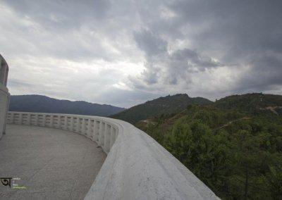 Annapurna range from World Peace Pagoda Pokhara