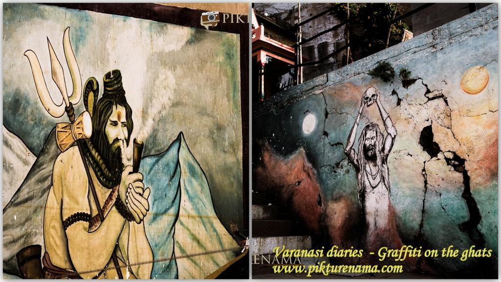 Varanasi Diaries – Graffiti on the ghats