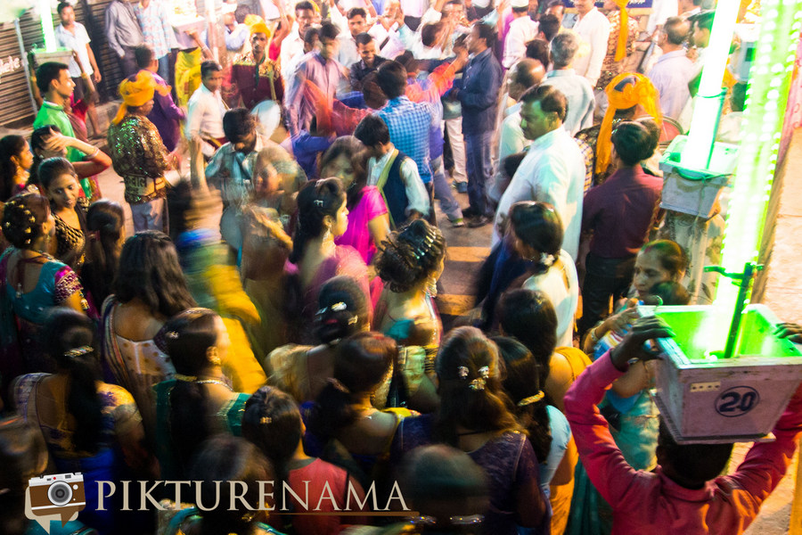 The dance and the frenzy Varanasi Wedding by Pikturenama