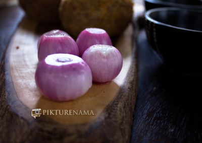 Onions for Dimer Devil or Scotch eggs Desi style by pikturenama