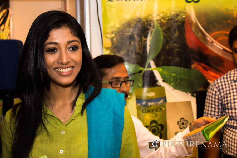 Actress paoli dam at The Lalit Great Eastern Tea treasures