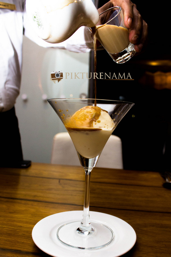 Tuscany Food festival at Afraa Kolkata Affogato