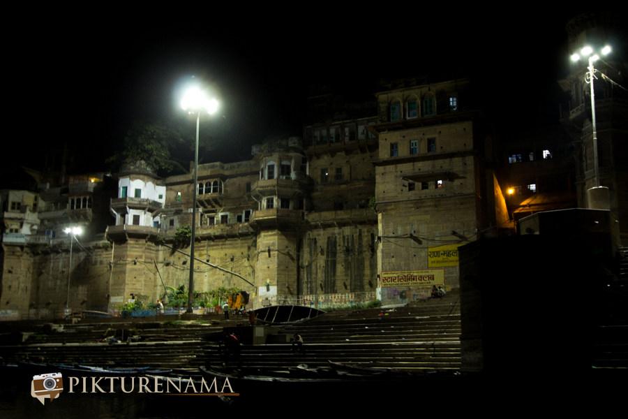 Varanasi ghats by nights by pikturenama - 13