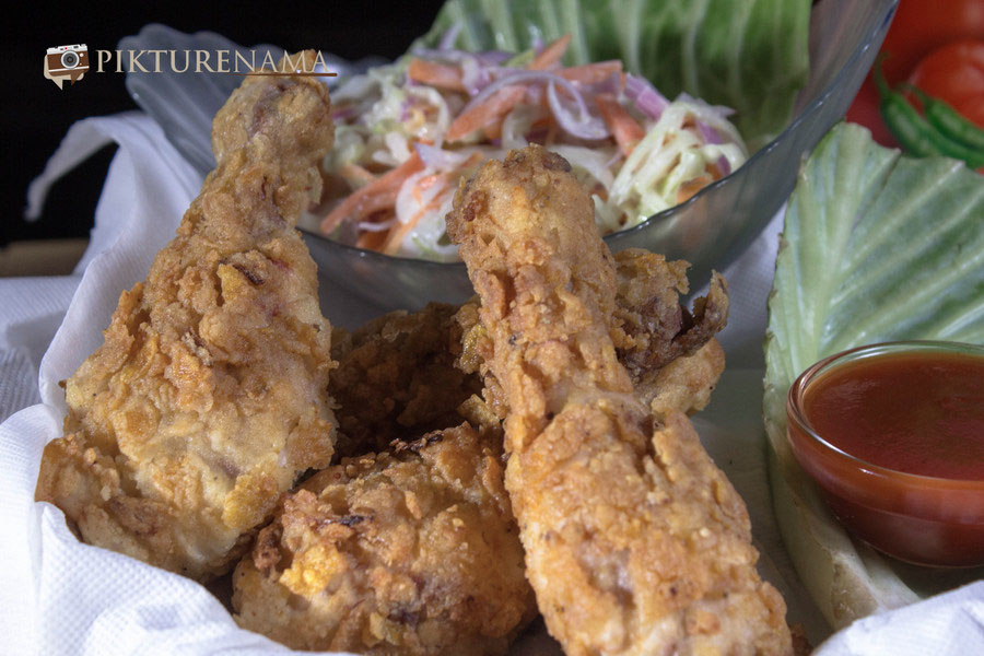 Fried chicken drumstick