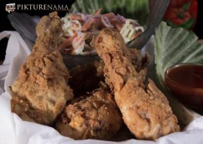 Fried chicken drumstick 5