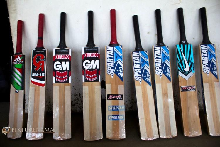 different brands in Kashmir willow bat