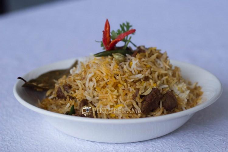 The Gateway Hotel Kolkata Food festival Lal Mangsher Pulao