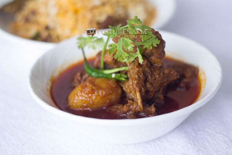 The Gateway Hotel Kolkata Food festival Mutton curry