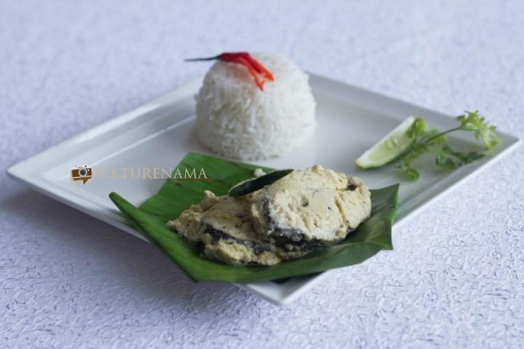 The Gateway Hotel Kolkata Food festival safed Ilish or Doodh Ilish