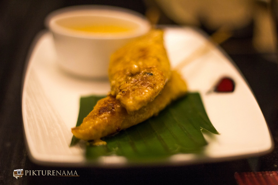 Chicken Satay Pan Asian ITC Sonar Kolkata