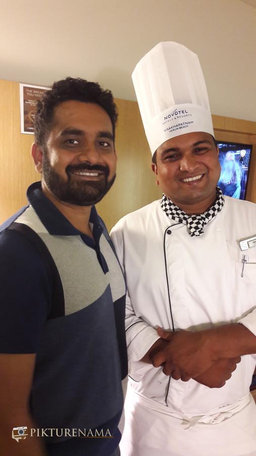 Vizag food trail chef