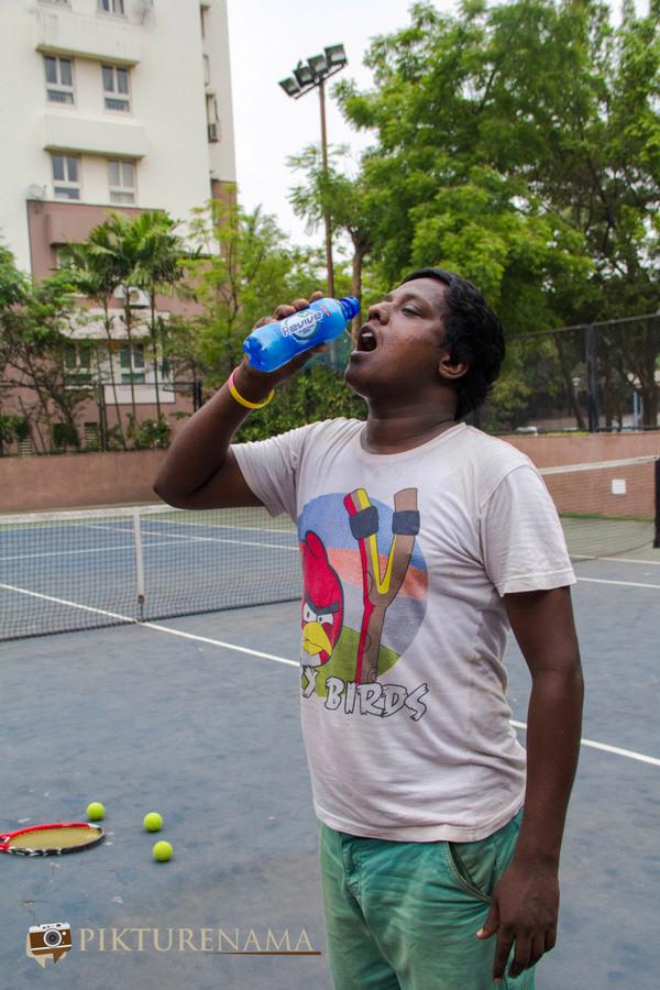 7UP Revive Tennis court