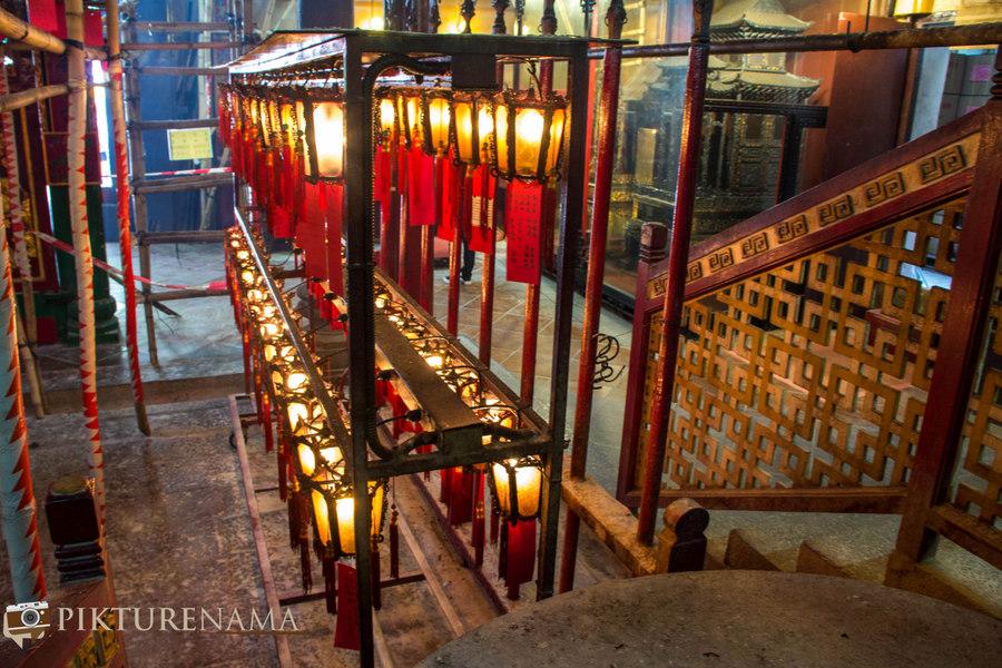 Hong Kong travel plan 5 Man Mao temple