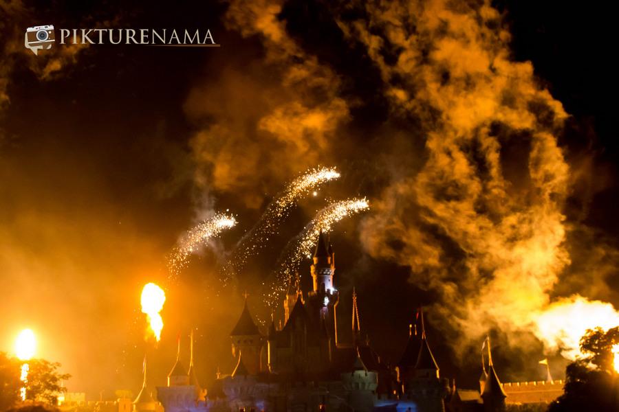 HongKong Disneyland Fireworks 9