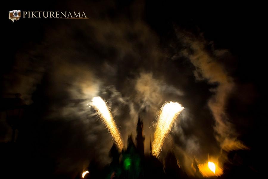 HongKong Disneyland Fireworks 10