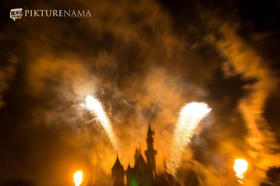 HongKong Disneyland Fireworks 11