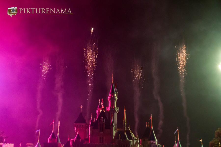HongKong Disneyland Fireworks 17