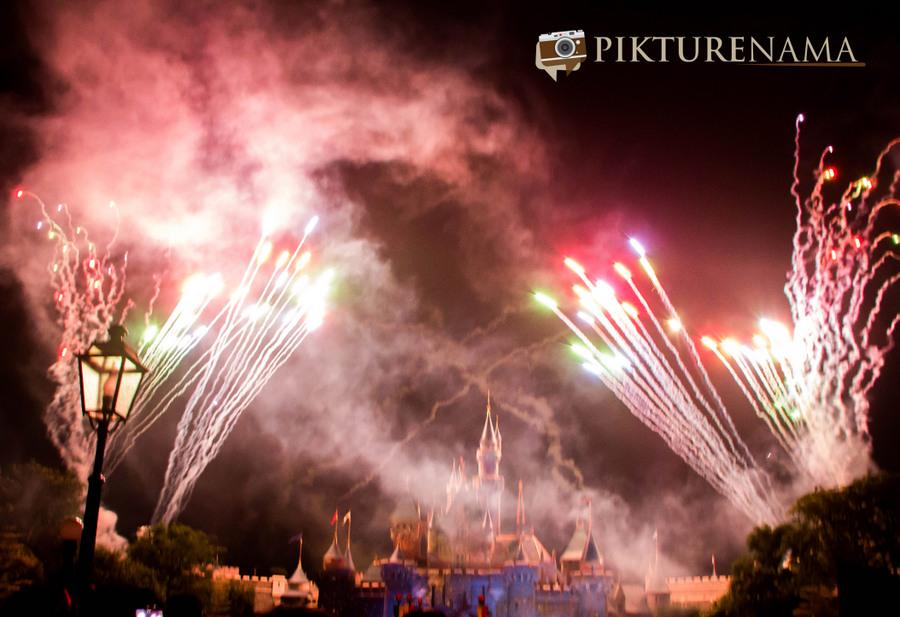 HongKong Disneyland Fireworks 2