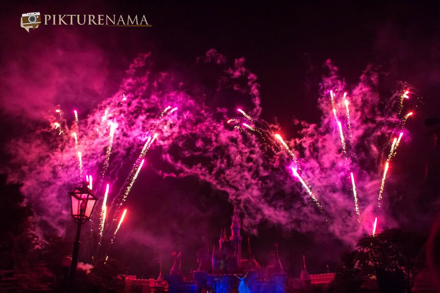 HongKong Disneyland Fireworks 5