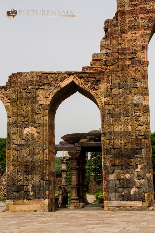 Qutub Minar and Qutub complex - 40