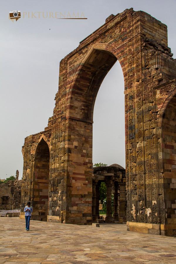 Qutub Minar and Qutub complex - 43