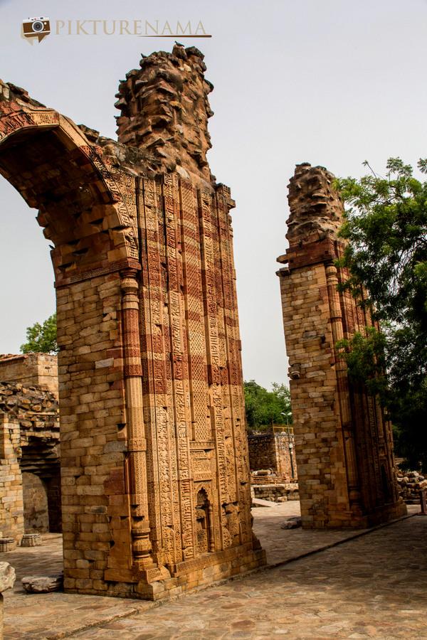 Qutub Minar and Qutub complex 46