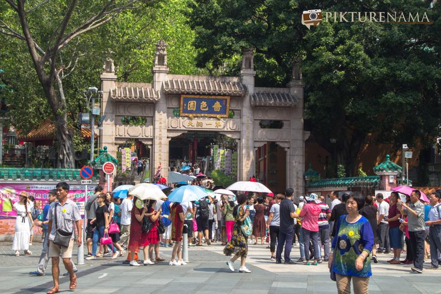 Wong Tai Sin temple HongKong and Man Mo Temple 1